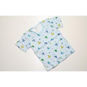Koszulka krótki rękaw rozmiar 110 - różne wzory