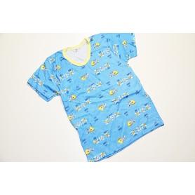 Koszulka krótki rękaw rozmiar 134 - różne wzory