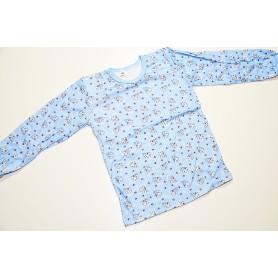 Koszulka długi rękaw rozmiar 128 - różne wzory